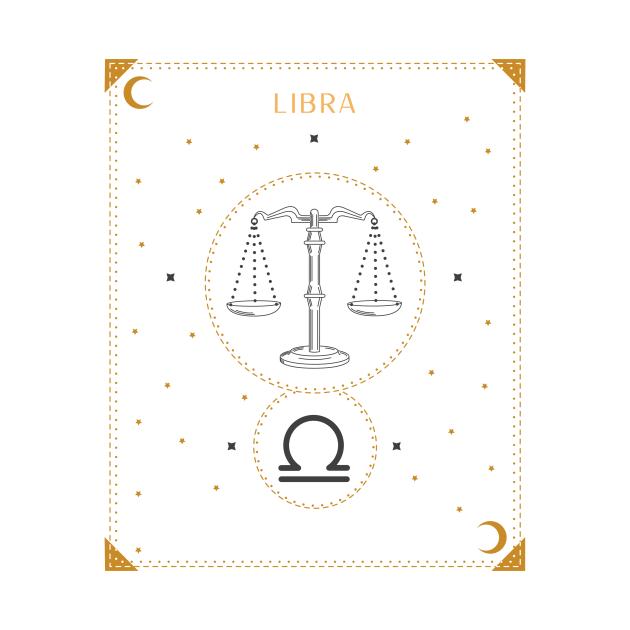 Libra | Astrology Zodiac Sign Design