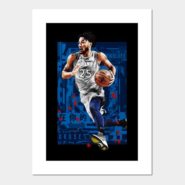 best website 443cd 265f0 D Rose Timberwolves