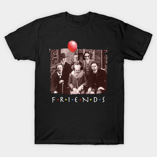 friends horror movie creepy halloween