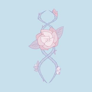 Pastel Rose Vine