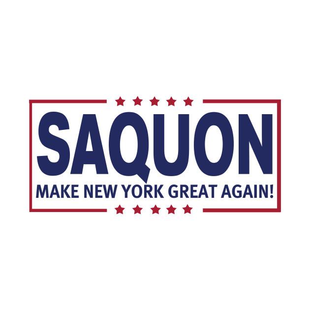 Saquon MNYGA! - New York Giants - T-Shirt  899232eab