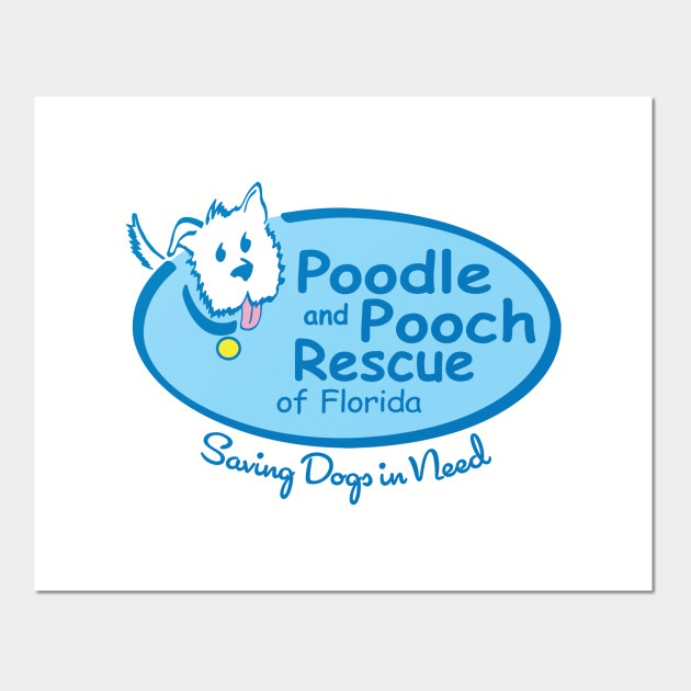 Poodle and Pooch Rescue Logo Tee