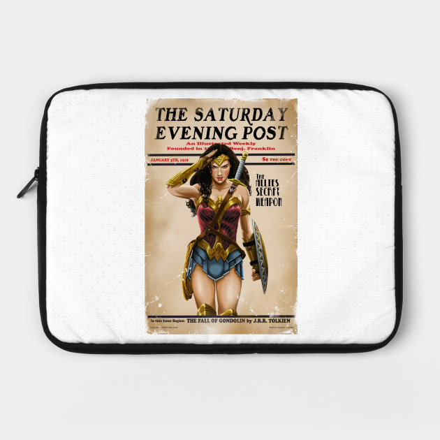 Wonder Women magazine parody