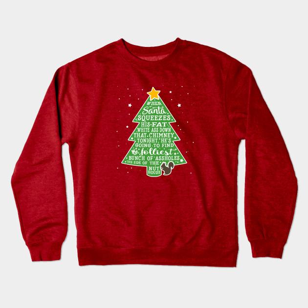 Jolliest Bunch Of A Holes Christmas Vacation Crewneck Sweatshirt
