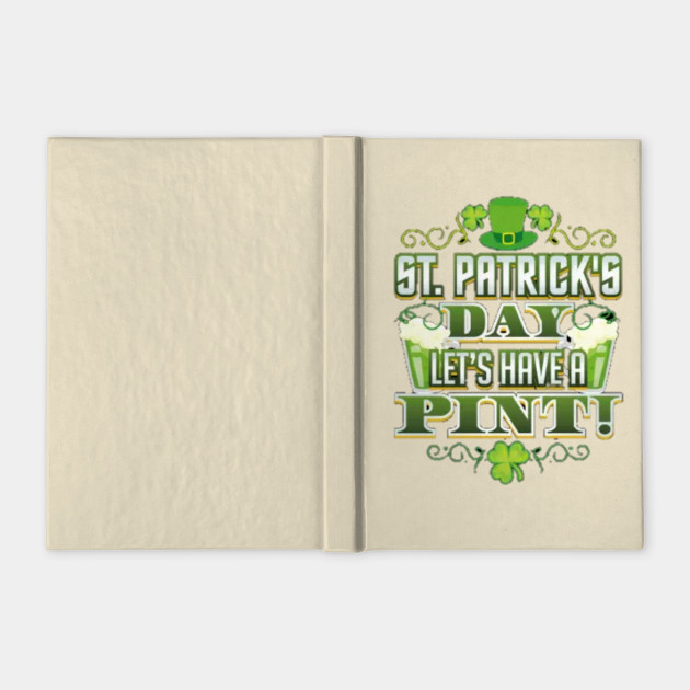 St patrick day lets have a pint