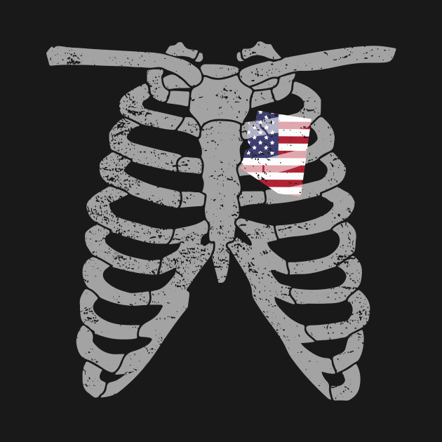 Funny State Rib Cage Shirt