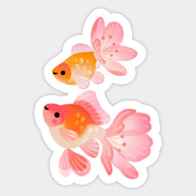 Cherry Blossom Goldfish 1