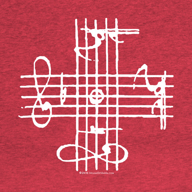 Johann Sebastian Bach Musical Signature Notation Cross