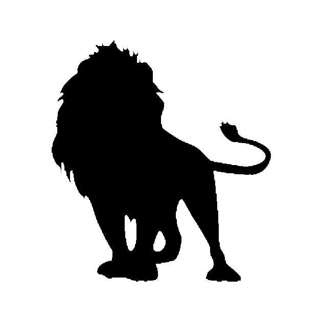 Lion Silhouette Lion Sticker Teepublic Emoji history the emoji code/ image log of changes. lion silhouette