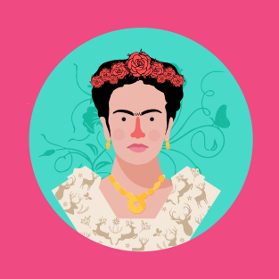 cfa87b5ec Frida Kahlo Cartoon T-Shirts