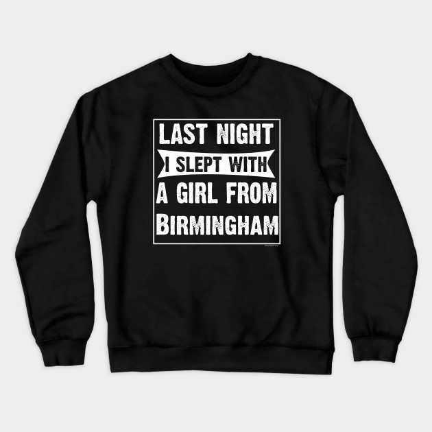 I Love Heart Birmingham Ladies T-Shirt