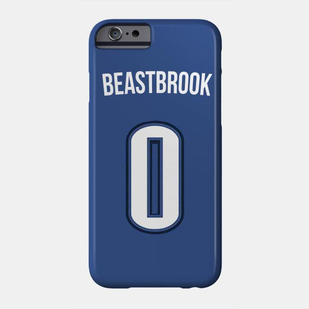 buy popular 5eada 62c9c Russell Westbrook 'Beastbrook' Nickname Jersey - Oklahoma City Thunder