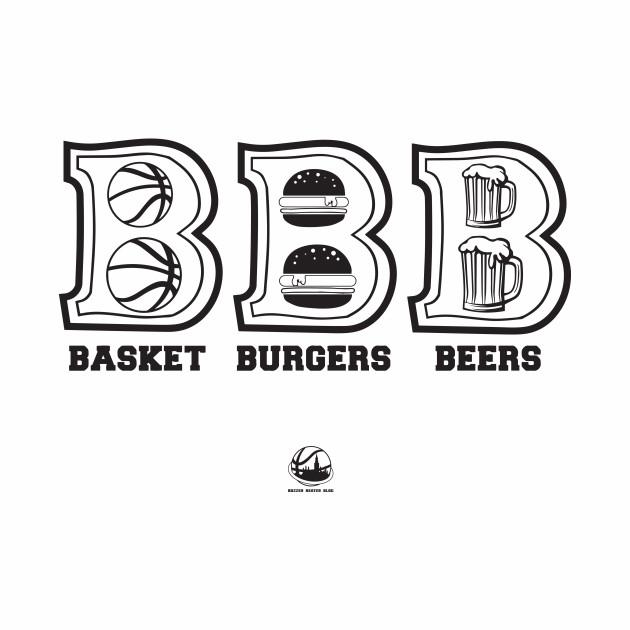 Basket Burgers Beers