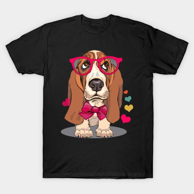 fd5f6334a90e Basset Hound Dog Tank Top - Basset Hound Dog - T-Shirt | TeePublic