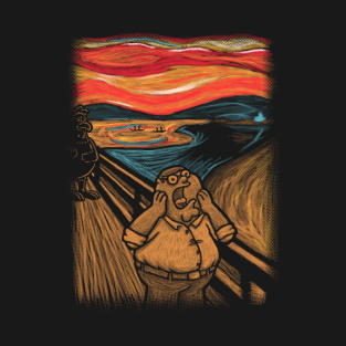 Scream in Quahog t-shirts