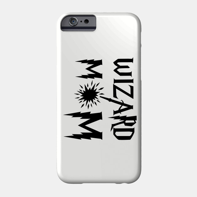 Wizard mom. Perfect gift for a mother Phone Case