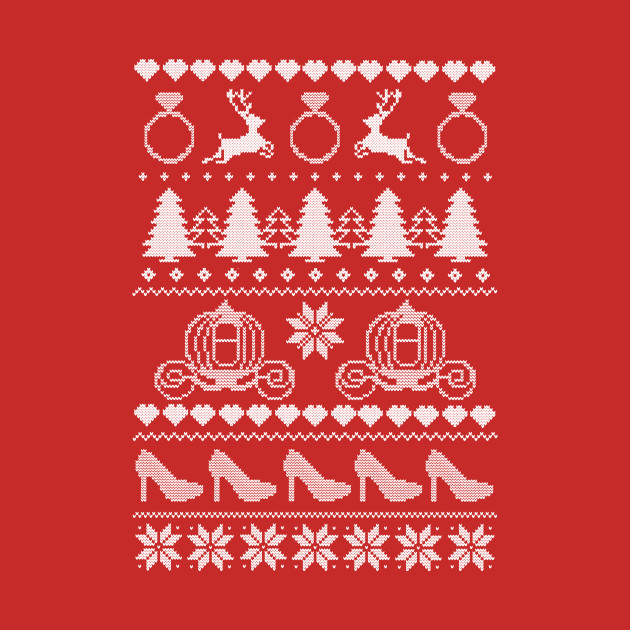 Magical Bride Ugly Sweater in white -