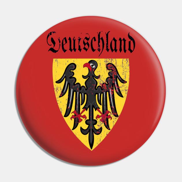 Soccer Crewneck Sweatshirt Deutschland Germany Coat of Arms Oktoberfest