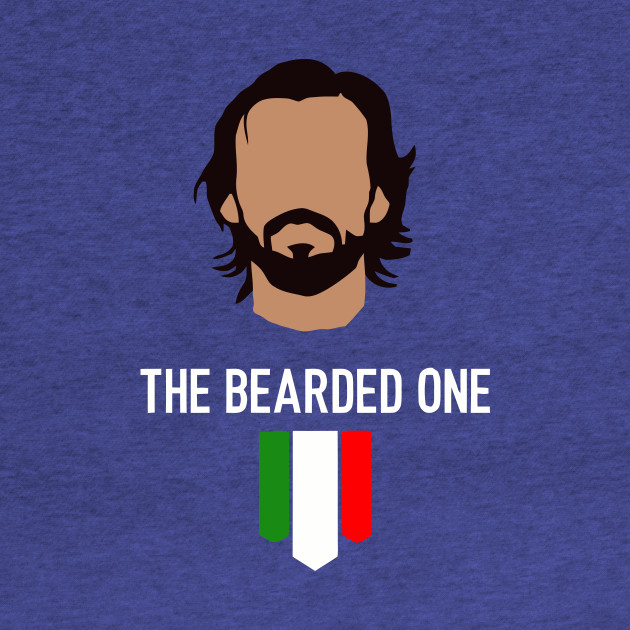 The bearded one - Pirlo