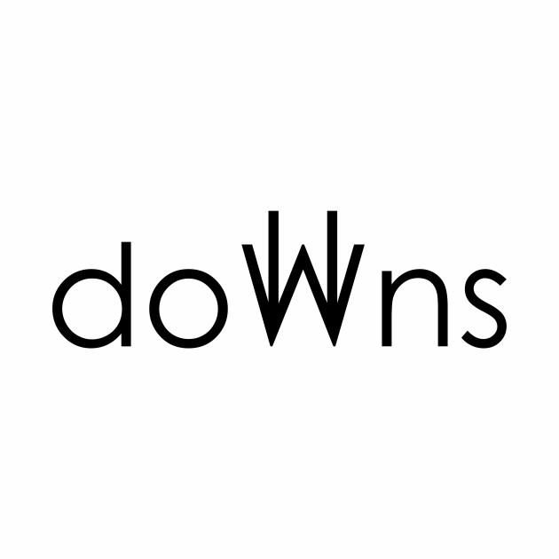 doWns in black