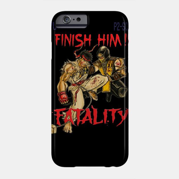 Ryu VS Scorpion Fatality