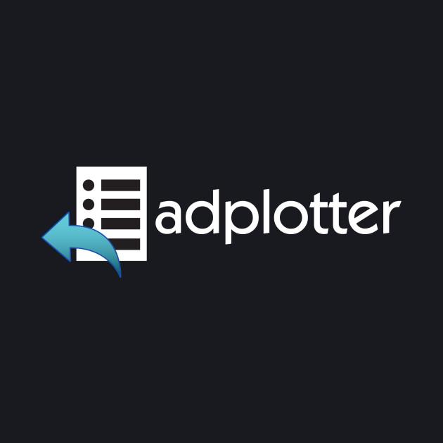 AdPlotter Logo - White Text