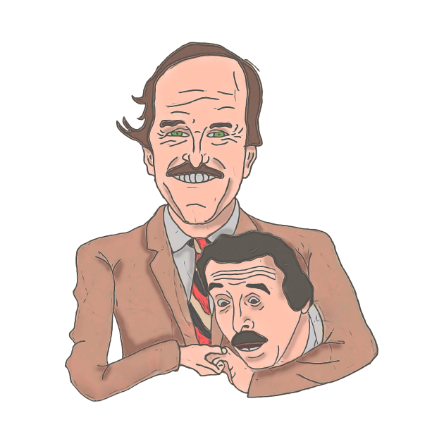 Fawlty Towers Basil and Manuel