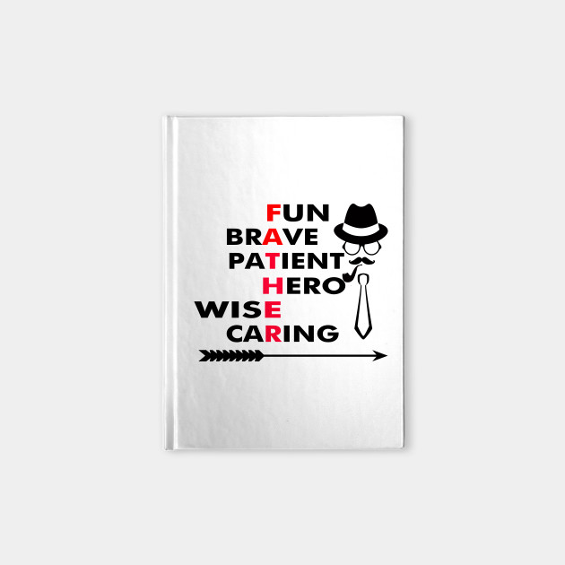 6283c9309 i love my daddy because they have son - Love - Notebook | TeePublic