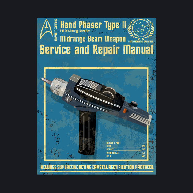 HAND PHASER SERVICE AND REPAIR MANUAL