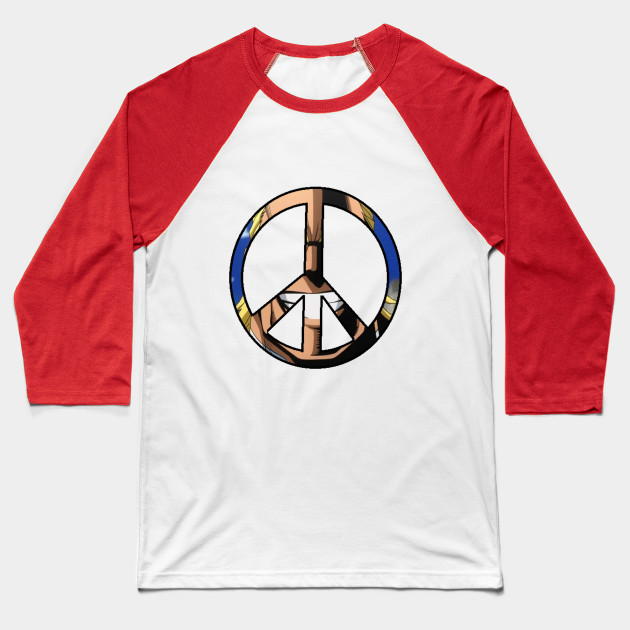 Symbol Of Peace My Hero Academia Baseball T Shirt Teepublic