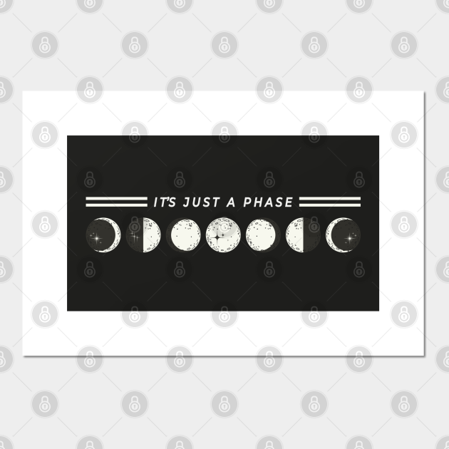 """It's Just A Phase"" Astrology Moon Phase"