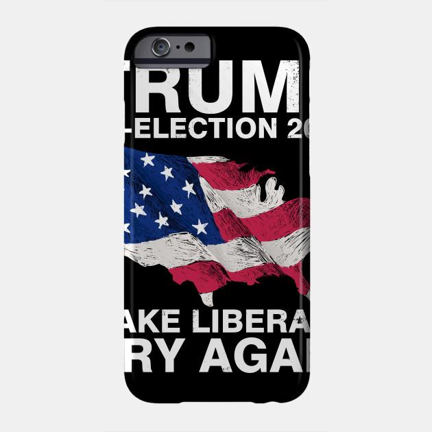 Donald Trump Maga 2020 Elections Make Liberals Cry Again iphone case