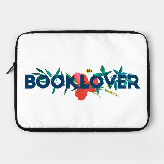 Floral BOOKLOVER