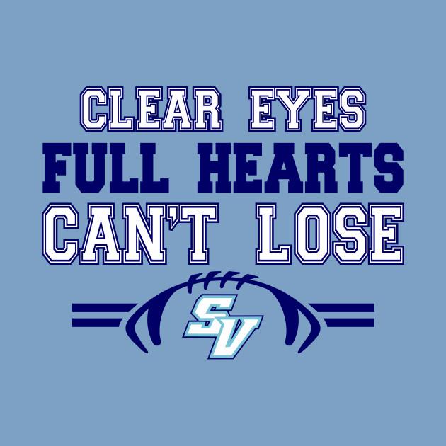 """Clear Eyes"" - SVHS Football"