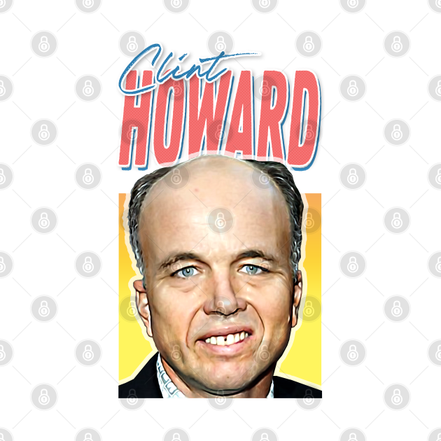 Sexy Clint Howard 80s Aesthetic Movie Lover Gift Design