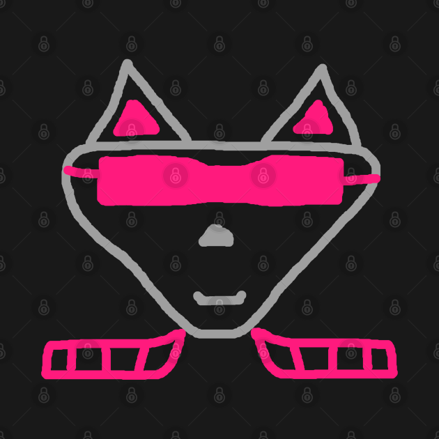 Cat Alien Cool Kitty Gift Saying Kitty