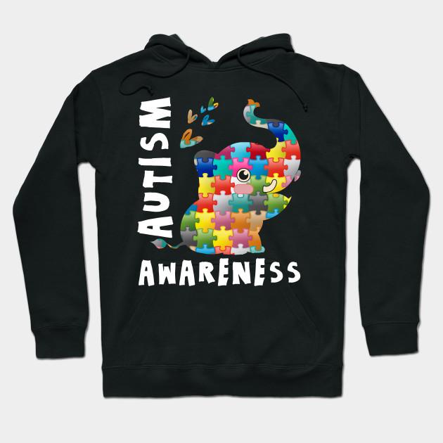 c974d5d40 Cute Elephant World Autism Awareness 2 April 2019 Shirt - Autism ...