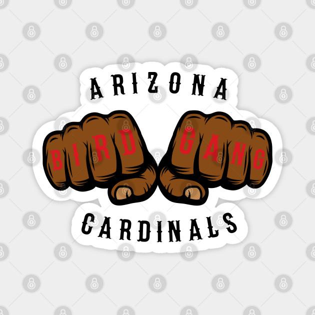 "Arizona Cardinals /""Bird Gang/"" NFL jersey Hooded SWEATSHIRT HOODIE"