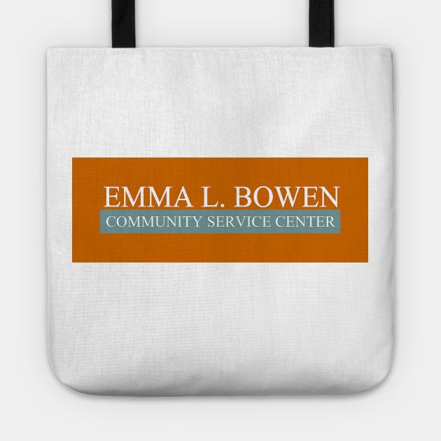 Emma L. Bowen Community Service Center logo T-shirt