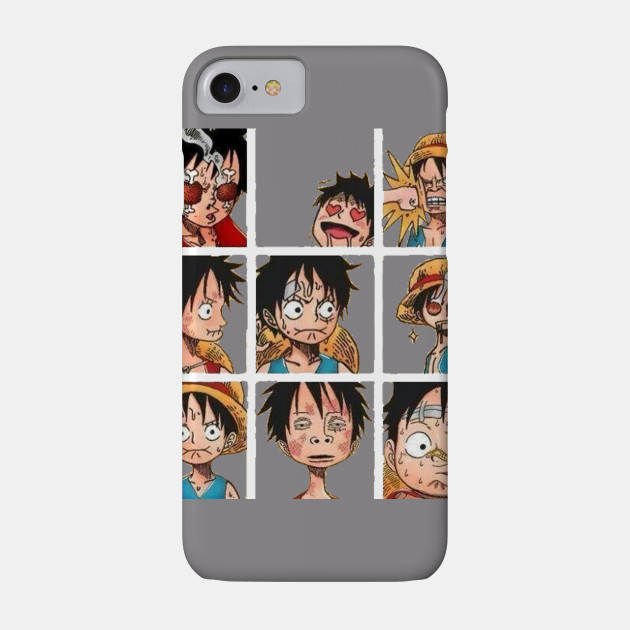 Luffy and His Faces