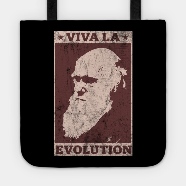 Viva La Evolution! Darwin Funny T-Shirt