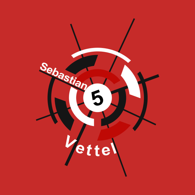 2019 Ferrari F1 Driver Sebastian Vettel 5 Design Vettel Ferrari Hoodie Teepublic
