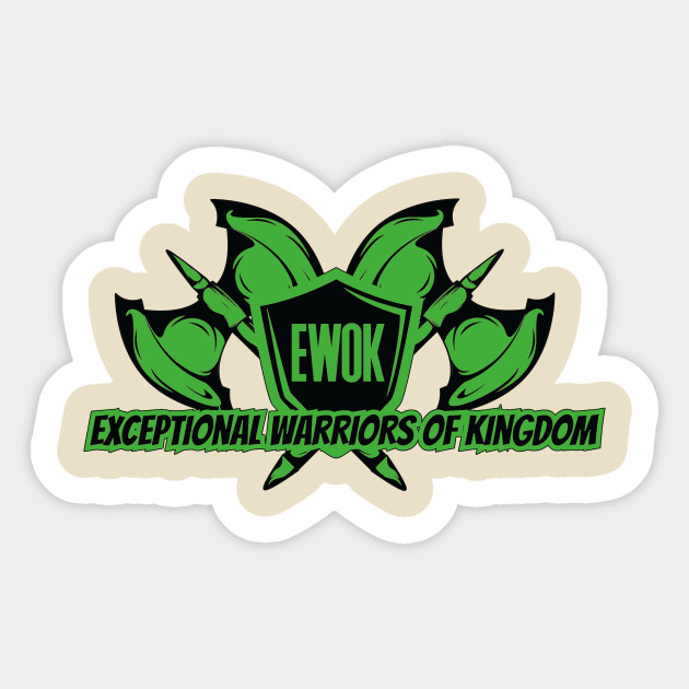 Green ewok ranger green ewok ranger