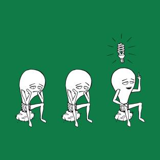Light Bulb t-shirts