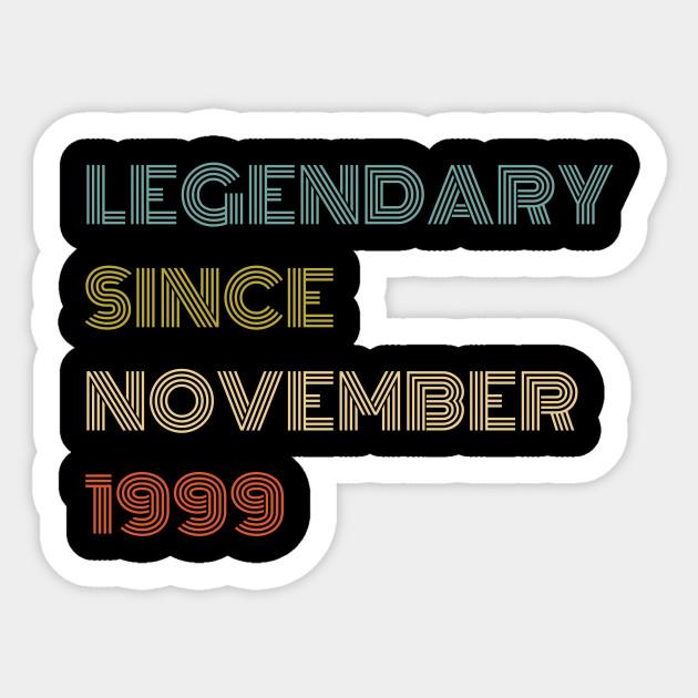 Since November 1999 Birthday Gift