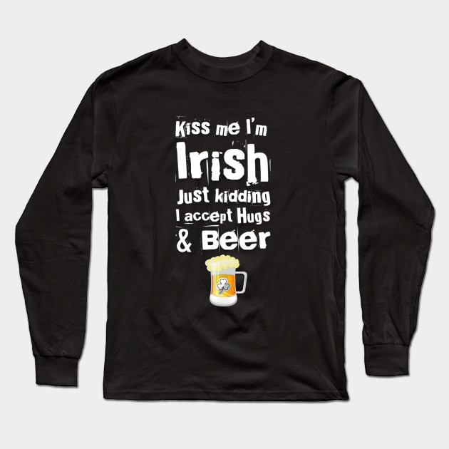 saint Patrick's day beer Long Sleeve T-Shirt