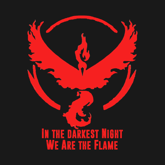 Team Valor- In the Darkest Night We are the Flame
