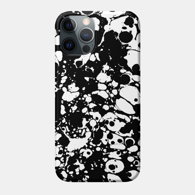 spilled paint phone case