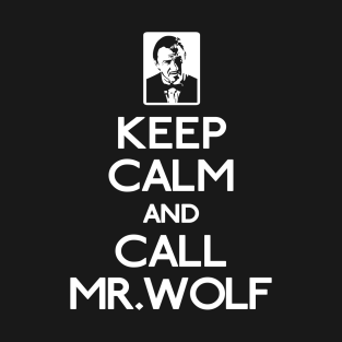 Call Mr Wolf t-shirts