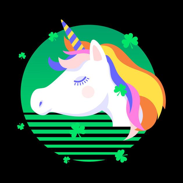 Unicorn St Patrick's Day